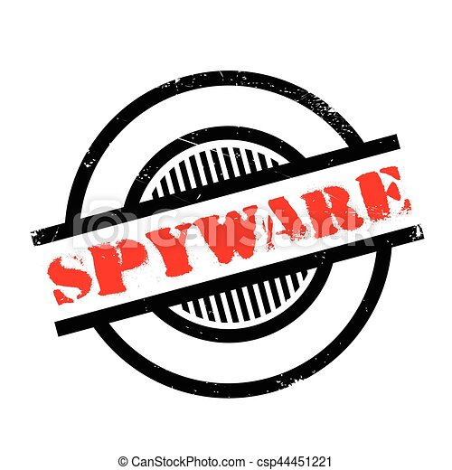Spyware rubber stamp - csp44451221