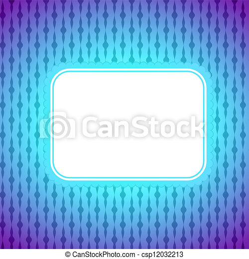 Square artistic banner, colorful lighting background - csp12032213