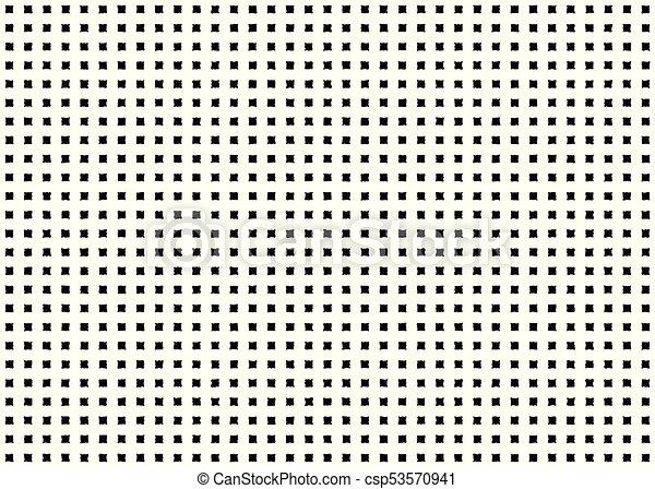 Square Checkered Seamless Pattern Quadratic Geometric Shape Grunge