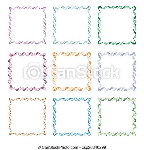 Square Frames - csp28840299
