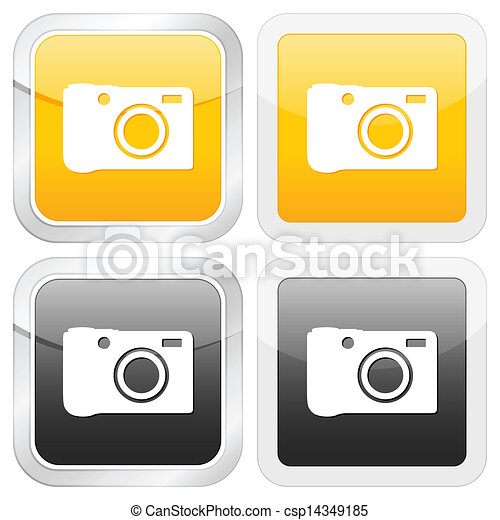 square icon photo - csp14349185
