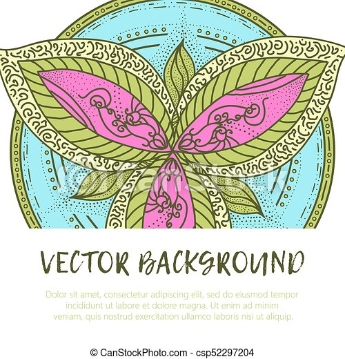 Enement Invitation Template | Square Invite Template Vector Invitation With Mandala Design