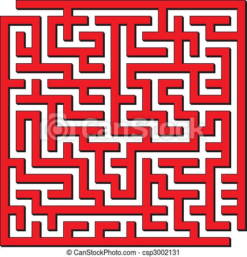 Square maze - csp3002131