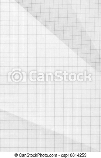 Squared sheet of paper background - csp10814253