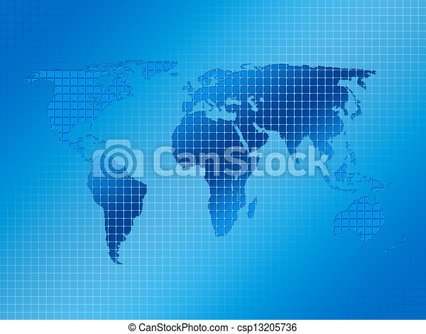 Squares and world map 3 square background with world map drawings squares and world map 3 csp13205736 gumiabroncs Choice Image