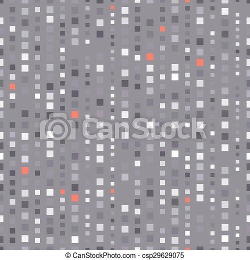 squares seamless pattern - csp29629075