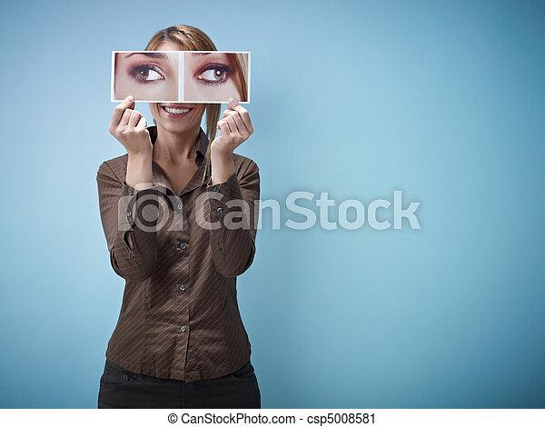 squint-eyes, executiva, grande - csp5008581