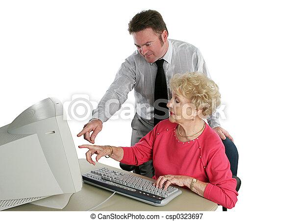 sr, de klasse van de computer - csp0323697