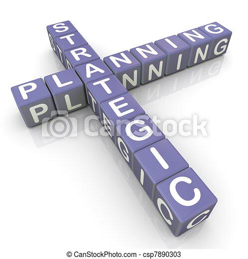 Srategic planning crossword - csp7890303