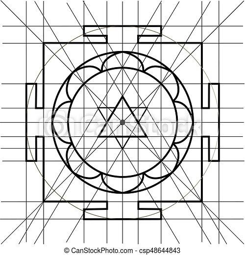 sacred geometry coloring book csp48644843 - Sacred Geometry Coloring Book