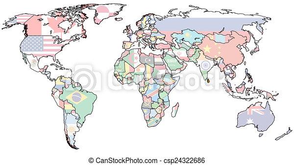 Sri lanka territory on world map. Sri lanka flag on old vintage ...