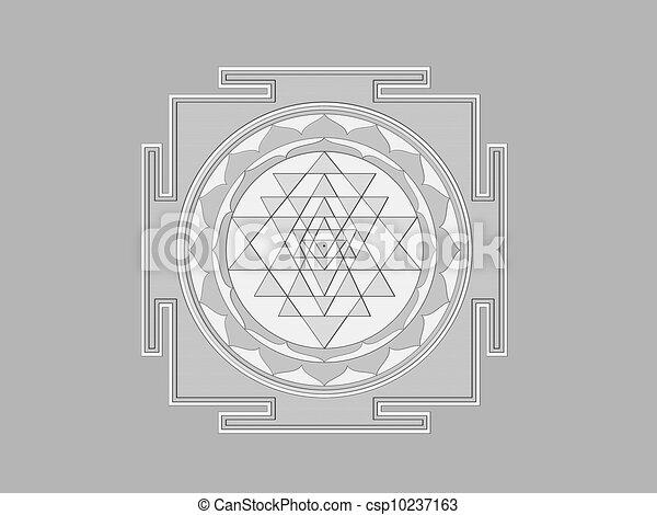 Sri yantra Clipart and Stock Illustrations  171 Sri yantra