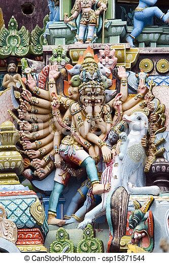 Srirangam - Tamil Nadu - India - csp15871544