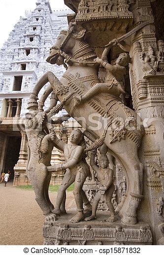 Srirangam - Tamil Nadu - India - csp15871832