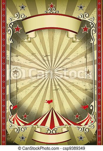 srtange, cirque - csp9389349