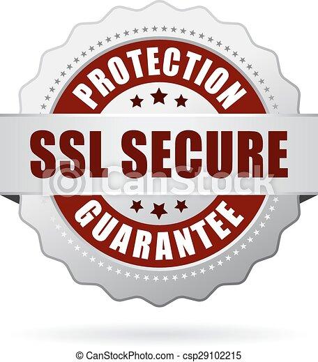 ssl, protection, assurer, garantie - csp29102215
