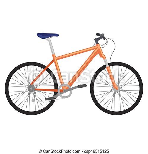 Städtische jungs fahren fahrrad auf weißem hintergrund.