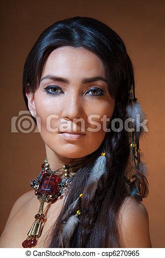 Indiankvinna