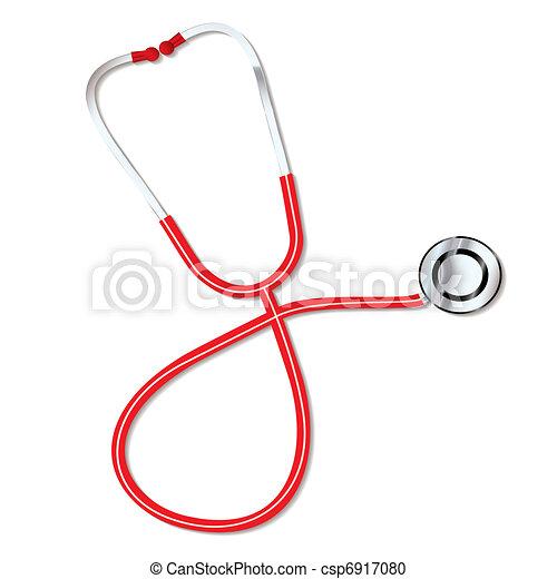 stéthoscope, médecins - csp6917080