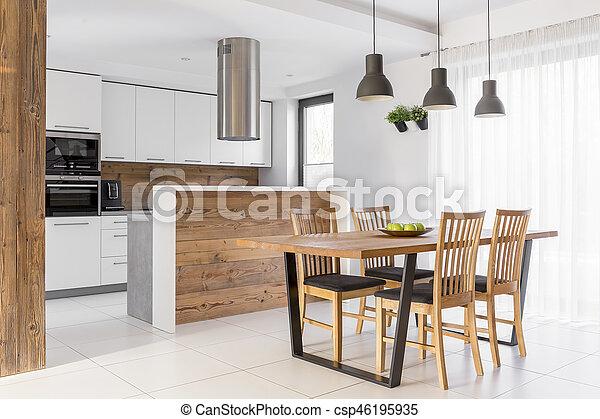 Stół Biały Kuchnia
