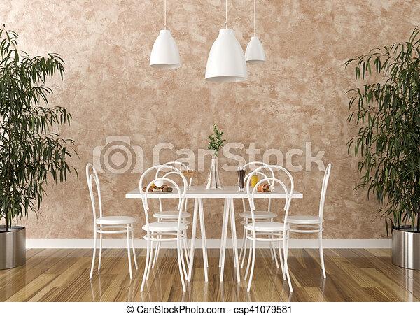 Stühle, tisch, kueche . Stühle, -, abbildung, tisch, kueche , 3d.