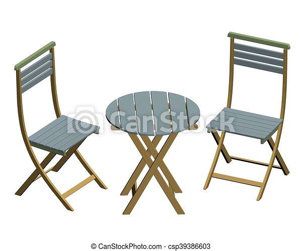 Stühle clipart  Vektor Clipart von stühle, tische - Vector, abbildung, von, stühle ...