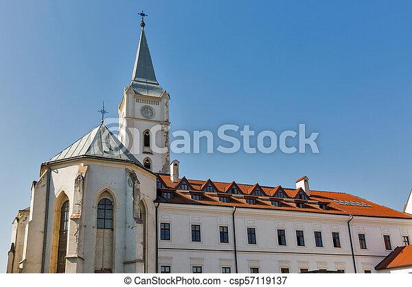 st. 。, アンソニー, slovakia., padua, kosice, 教会 - csp57119137