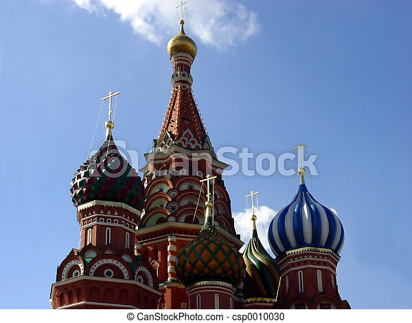 St. Basil Cathedral - csp0010030