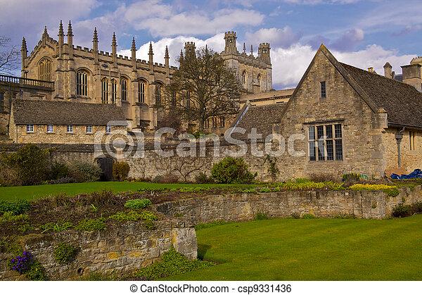 St. Christ Church College - csp9331436