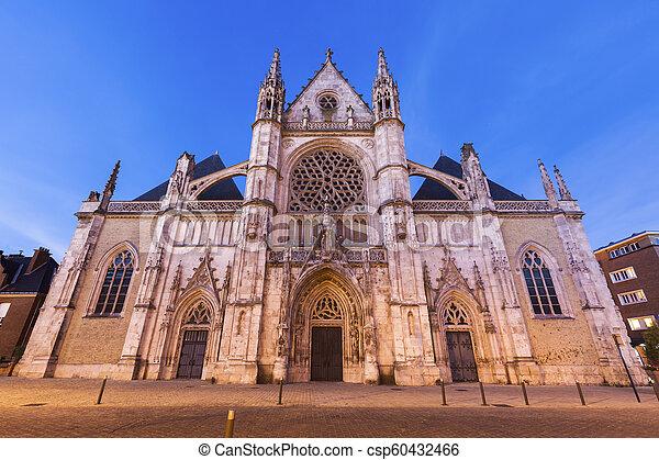 St Eloi Church in Dunkirk - csp60432466