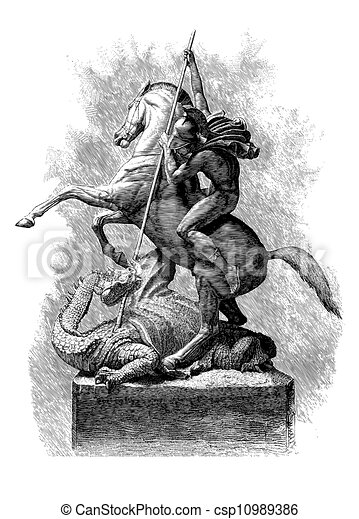 st george and dragon engraved line engraving magazine of art 1879 st george and the dragon. Black Bedroom Furniture Sets. Home Design Ideas