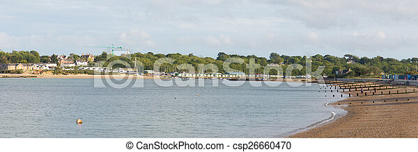 St Helens Isle of Wight Bembridge - csp26660470