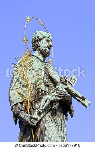 St. John Nepomucene Statue - csp6177910
