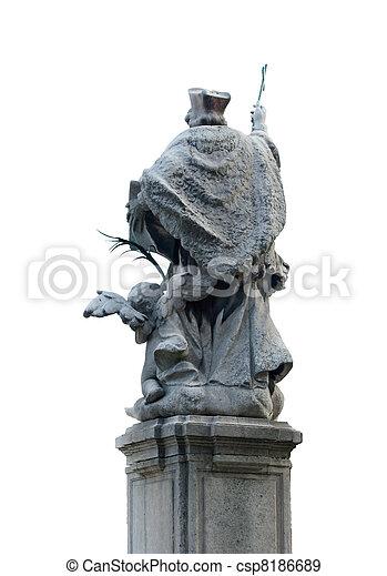 St. John of Nepomuk, Milan - csp8186689