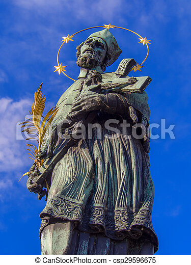 St. John of Nepomuk Statue - csp29596675