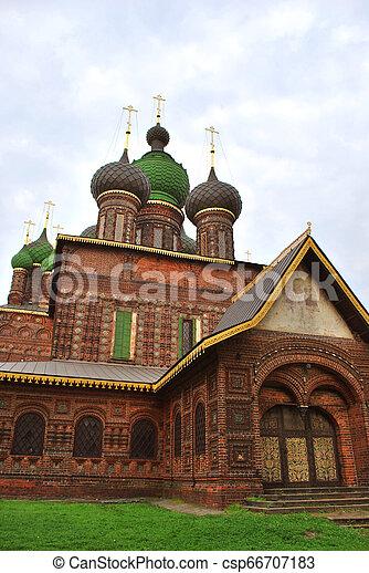 St. John the Baptist Church in Yaroslavl, Russia - csp66707183