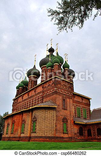 St. John the Baptist Church in Yaroslavl, Russia - csp66480262