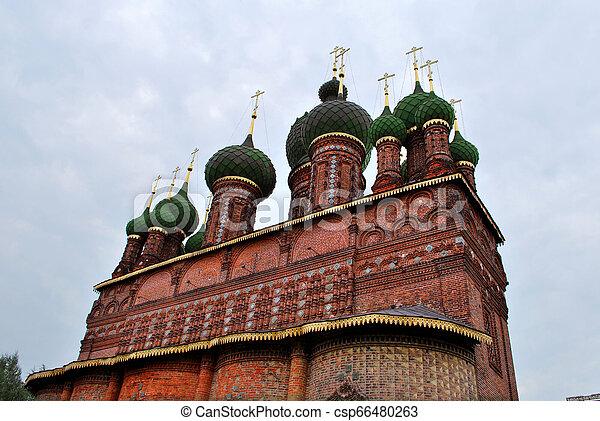 St. John the Baptist Church in Yaroslavl, Russia - csp66480263