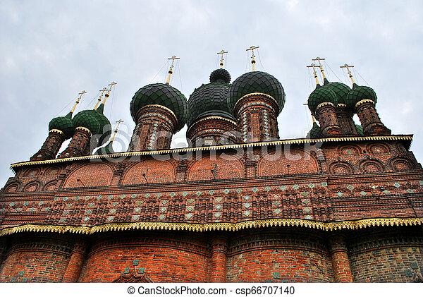 St. John the Baptist Church in Yaroslavl, Russia - csp66707140