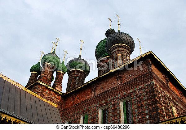St. John the Baptist Church in Yaroslavl, Russia - csp66480296