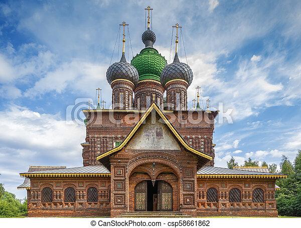 St. John the Baptist Church, Yaroslavl - csp58661862