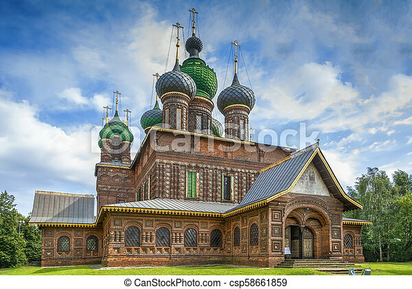 St. John the Baptist Church, Yaroslavl - csp58661859