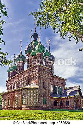 St. John the Baptist Church, Yaroslavl - csp14382620