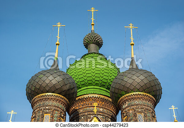 St. John the Baptist Church. Yaroslavl, Golden ring, Russia. - csp44279423