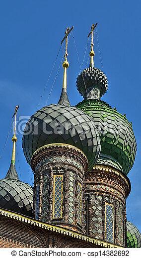 St. John the Baptist Church, Yaroslavl - csp14382692