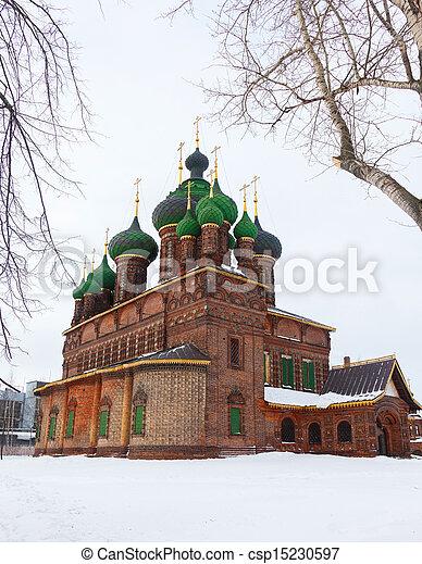 St. John the Baptist Church Yaroslavl - csp15230597
