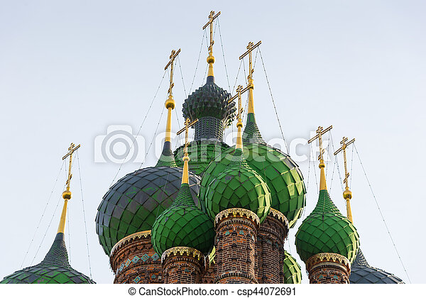 St. John the Baptist Church. Yaroslavl, Golden ring, Russia. - csp44072691