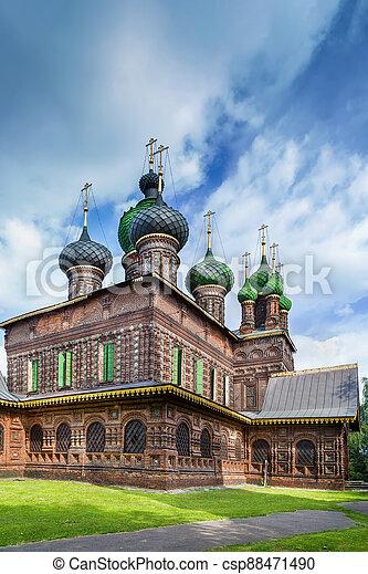 St. John the Baptist Church, Yaroslavl - csp88471490