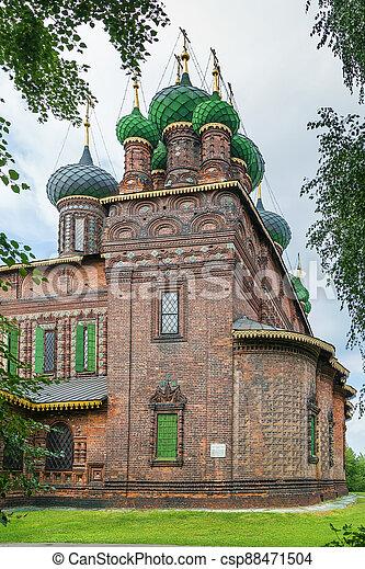 St. John the Baptist Church, Yaroslavl - csp88471504