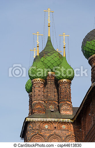 St. John the Baptist Church. Yaroslavl, Golden ring, Russia. - csp44613830